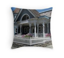 """Cute Cambria Cottage"" Throw Pillow"