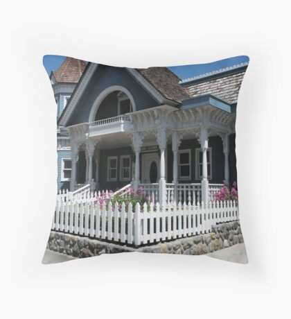 """""""Cute Cambria Cottage"""" Throw Pillow"""