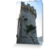 Korcula architecture Greeting Card