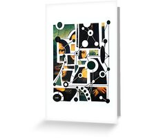 mona deconstructed Greeting Card