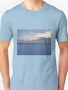 Sunset across fields T-Shirt