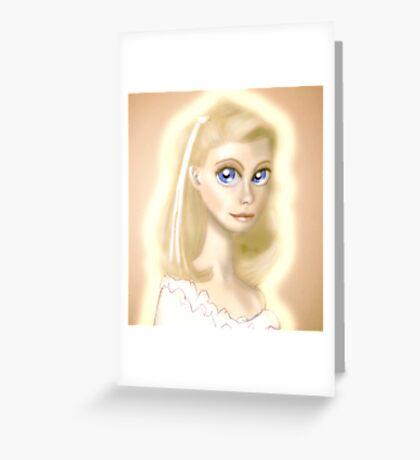 Xanadu, Olivia Newton-John Greeting Card