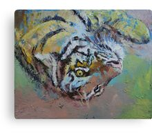 Tiger Play Canvas Print