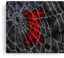 Black Widow Spice Latte Canvas Print