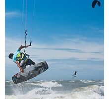 Kiteboarder Photographic Print