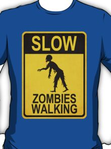 Slow Zombies Walking T-Shirt