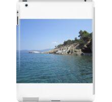 Greek coastline iPad Case/Skin