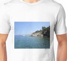 Greek coastline Unisex T-Shirt