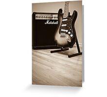 Fender Greeting Card
