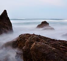 rock's and waves in motion by mickels