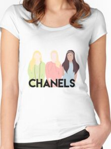 Chanels Women's Fitted Scoop T-Shirt
