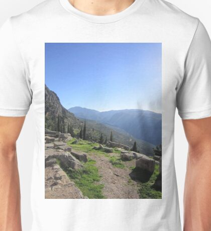 Delphi, Greece Unisex T-Shirt