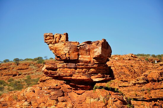 rock in layers by mickels