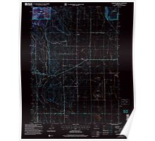 USGS Topo Map Oregon Lakeview Airport 280454 2004 24000 Inverted Poster