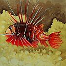 red fish by Ciobanu Adrian