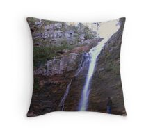 grampians,silverband falls Throw Pillow