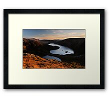 Dawn Glow, Cradle High Framed Print
