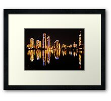 Good Times - Surfers Reflections Framed Print