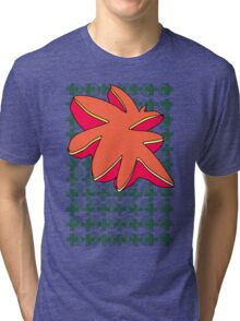 Star Fish Grid Tri-blend T-Shirt
