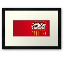 Japan 1 - Daruma Framed Print