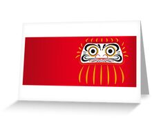 Japan 1 - Daruma Greeting Card
