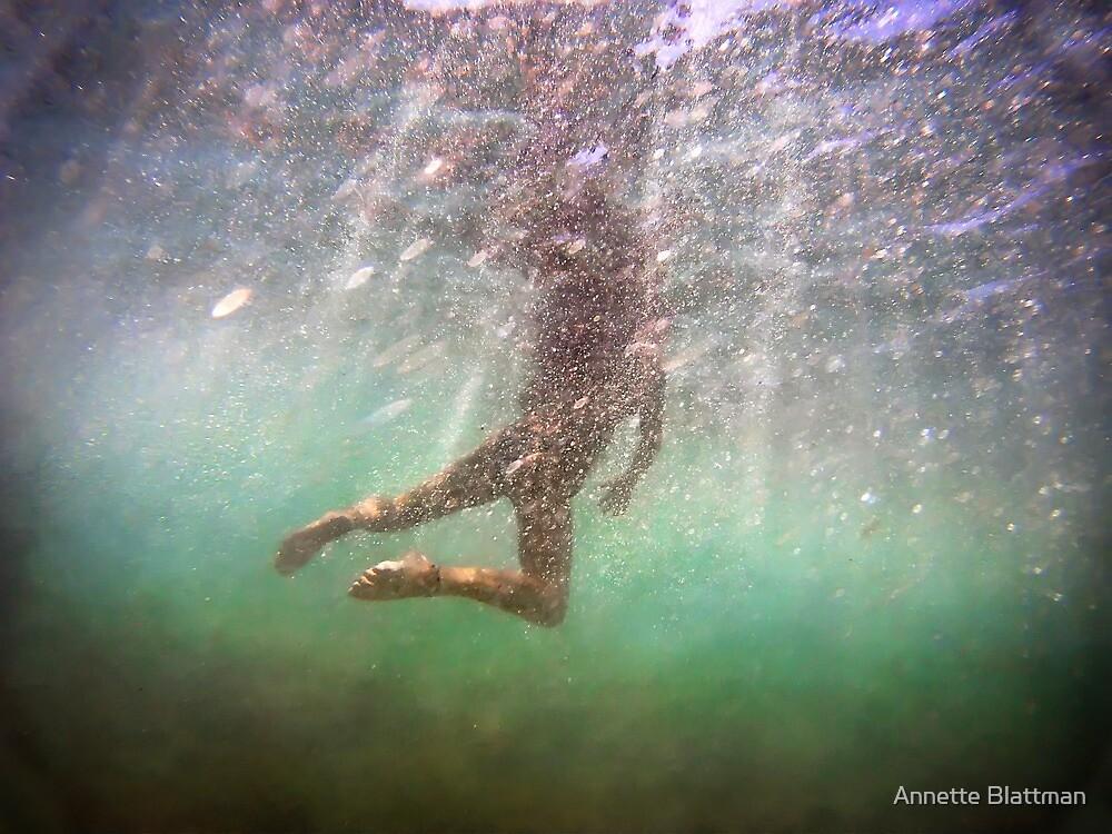 Hidden View ~ Mermaid Series 4 by Annette Blattman