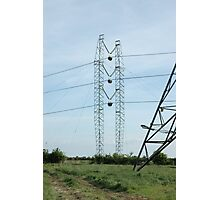"""""""Temporary Tower and Conductor Running Out Blocks"""" Photographic Print"""
