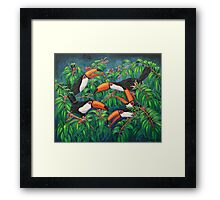 """Toucan Tea"" Framed Print"
