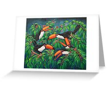 """Toucan Tea"" Greeting Card"