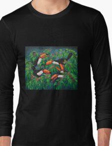 """Toucan Tea"" Long Sleeve T-Shirt"