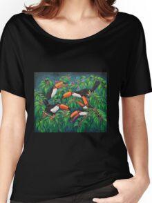 """""""Toucan Tea"""" Women's Relaxed Fit T-Shirt"""