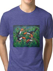 """Toucan Tea"" Tri-blend T-Shirt"