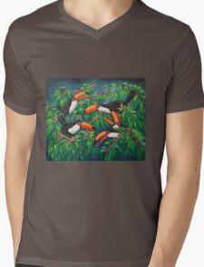 """""""Toucan Tea"""" Mens V-Neck T-Shirt"""
