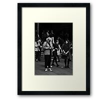 Fandangled ... Framed Print