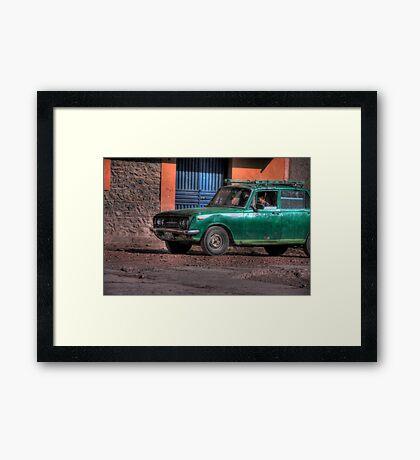 Peruvian Car Framed Print