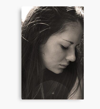black & white Canvas Print