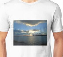 Dusk along Attica coastline Unisex T-Shirt