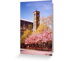 Judson Memorial Church, Greenwich Village, New York City Greeting Card