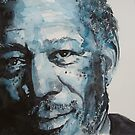 Morgan Freeman by LoveringArts