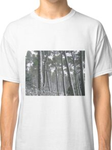 snow on trees Classic T-Shirt