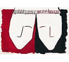 Two Souls in Unisono Photographic Print