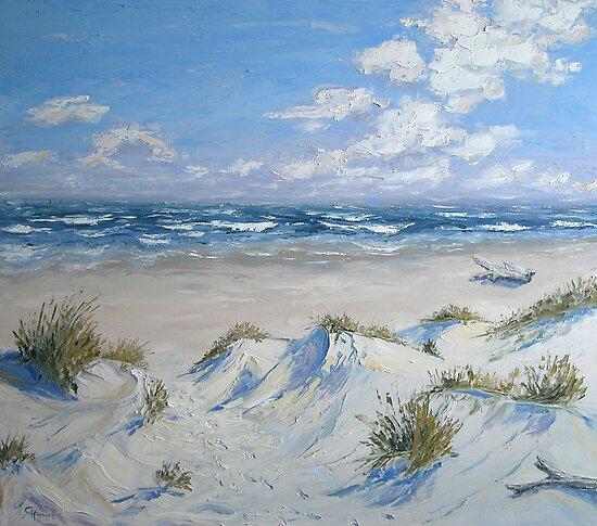 Sand dunes by Claudia Hansen