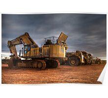 Alliance Machines- Integra Minesite- Emu Flats WA Poster