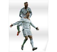 Cristiano Ronaldo & Sergio Ramos Poster