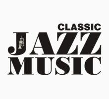 Black Classic Jazz Music  Kids Clothes