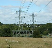 """""""Tension Tower, South Wales"""" by Jimmy Deas"""