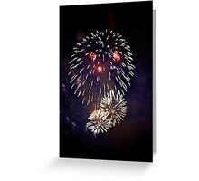 fuegos artificiales.: Greeting Card