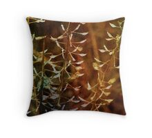 Lovely wild grasses Throw Pillow