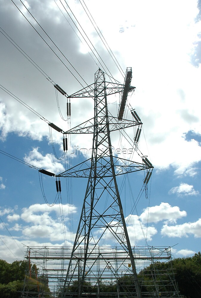 """Tension Tower with Platform and Scaffold"" by Jimmy Deas"