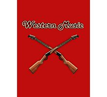 Western music Photographic Print